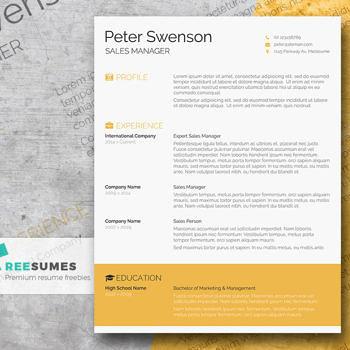 Premium Resume Freebie