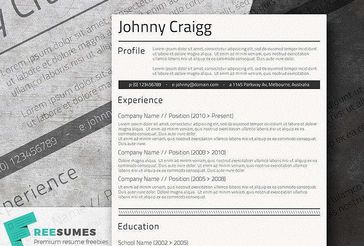 classic resume templates  keep it simple to succeed