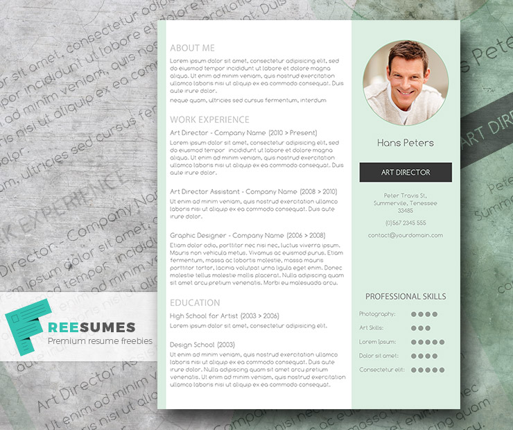 mint resume template