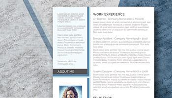 free modern resume design