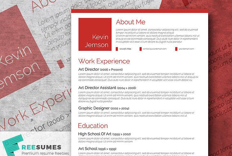 free elegant resume templates