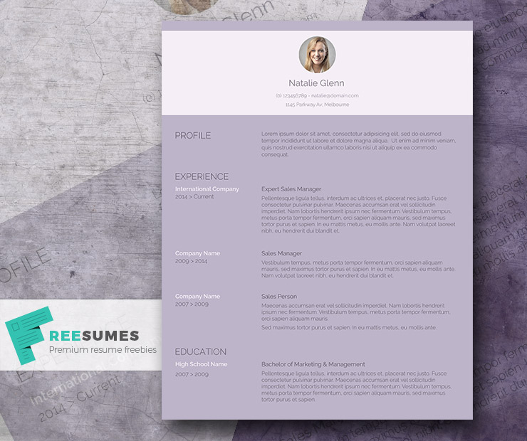 the working woman resume template freebie for ladies freesumes