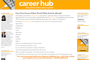 Career Hub Blog