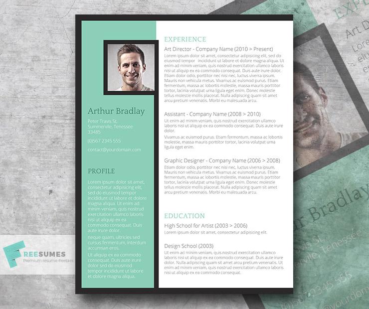 Classy Emerald – A Fancy Word Resume Template Freebie