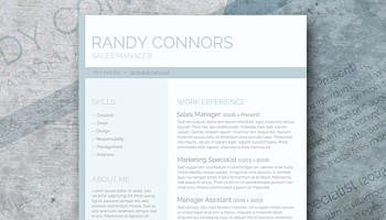 modern and chic – a photo resume template giveawaywashed out – a free pastel colored resume template