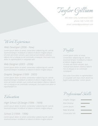 The Intelligent Applicant Resume