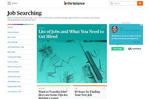 Job Search The Balance