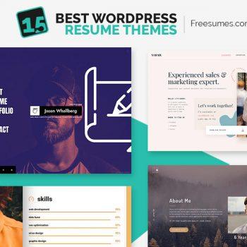 WordPress resume themes