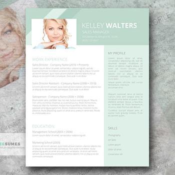 free sales resume template
