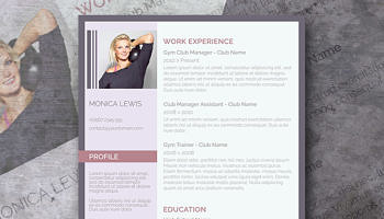 Classy Emerald A Fancy Word Resume Template Freebie