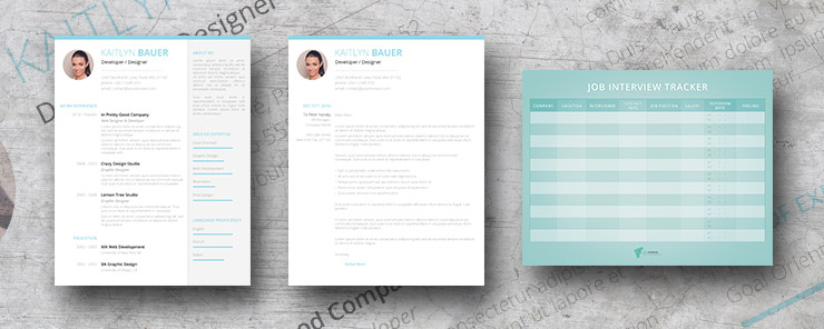 Ocean Breeze resume pack