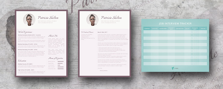 Creative Flair resume pack