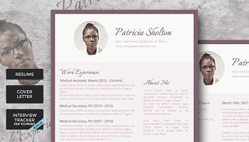 creative resume pack