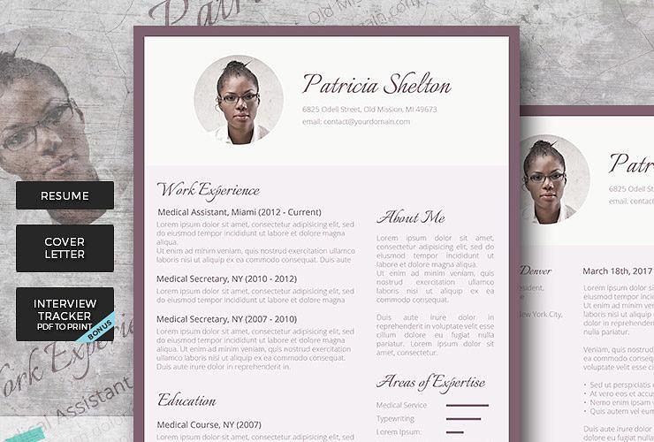 creative resume pack