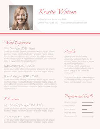 The Urbane Woman Resume