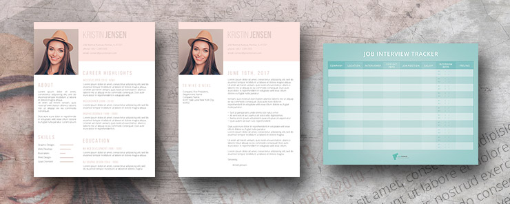 sugar and spice resume template