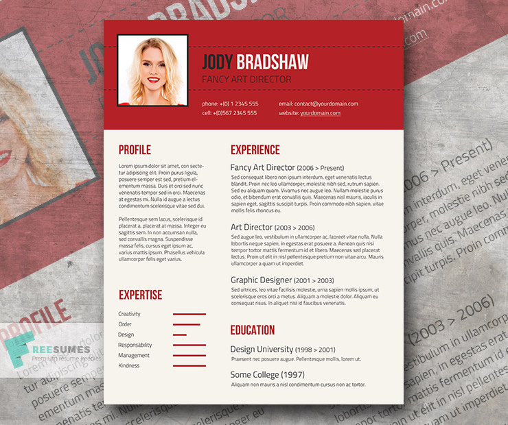 Fancy Resume Template For Free Rubicund Headliner Freesumes