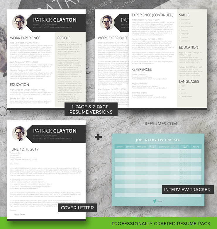 resume pack smart and professional