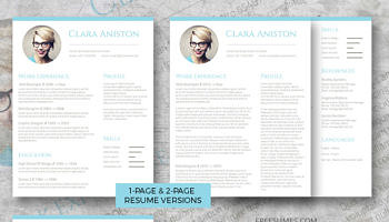 complete resume set simple snapshot