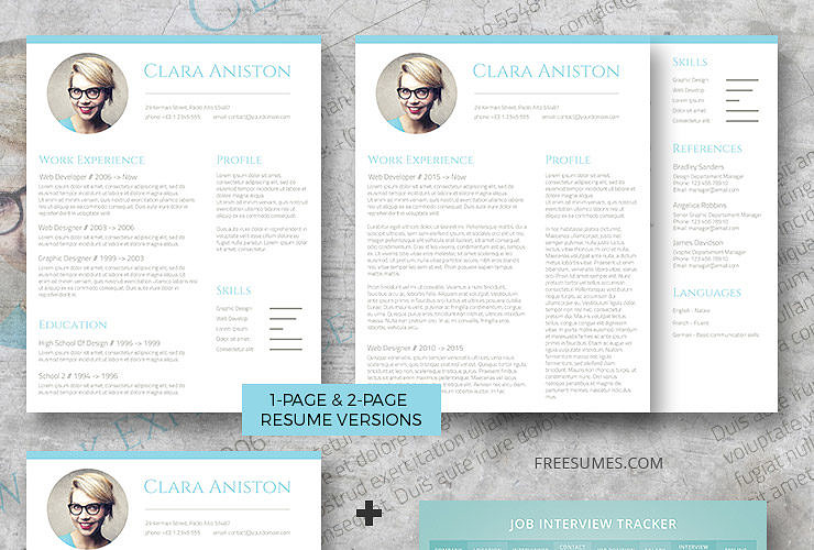 complete resume set simple snapshot