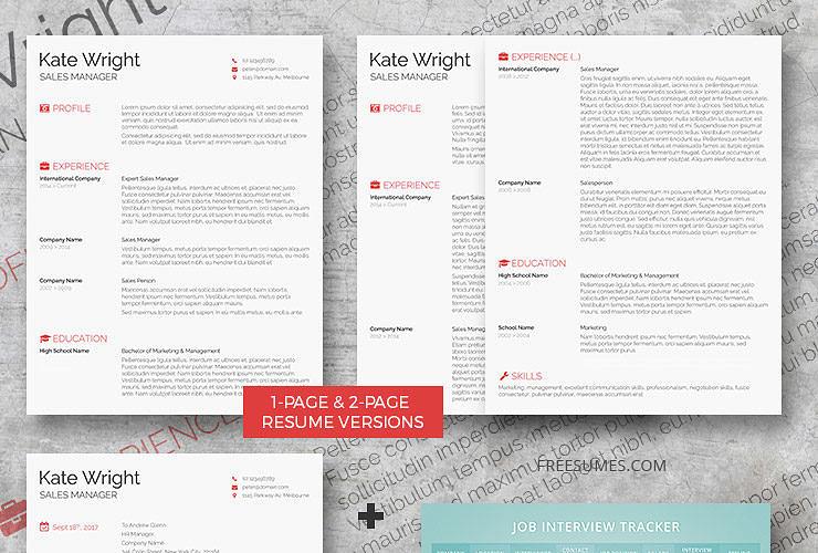 complete resume set the minimalist