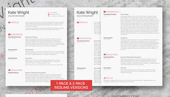 complete resume set the minimalist