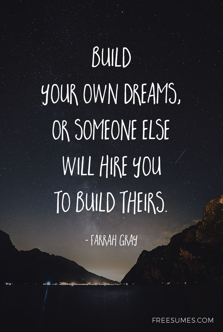 5 Motivational Quotes for a Successful Job Search - Freesumes