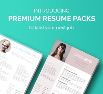 resume template packs