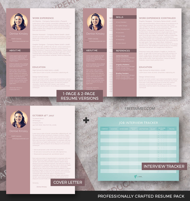 Modern And Chic CV Package