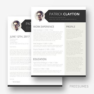 resume template smart and professional