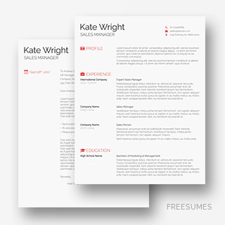 The Minimalist Resume Pack