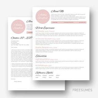 Touch Of Pink Resume Pack