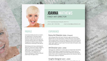 Resume Examples Teacher Word Smart Freebie Word Resume Template  The Minimalist Sample Property Manager Resume Excel with Certified Professional Resume Writers Excel Trendy Resume Template Giveaway  Sense And Style Build My Resume Online Free