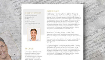 clean and classy a free and elegant resume design minimalist cv template - Design Resume Templates