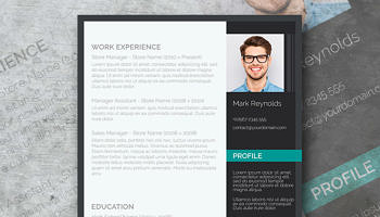 modern and professional resume-template