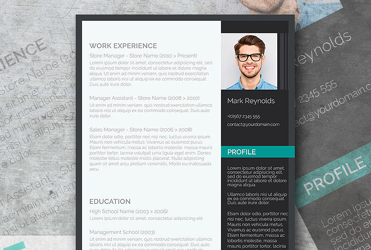 the modern professional a free ultra creative cv template - Modern Resume