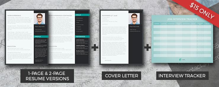 modern resume pack