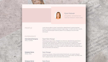 misty rose resume