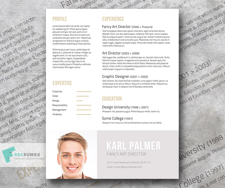 the unconventional resume template - The Best id resume template