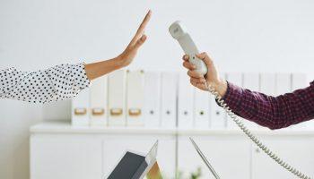 recruiter refusing phone call