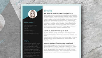 Goldenrod Yellow A Free Clean Word Resume Template Freesumescom