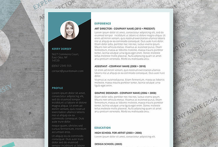 Free modern resume templates free job winning resume template instant download altavistaventures Image collections