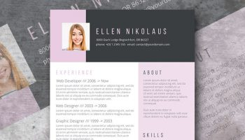 say it with style resume