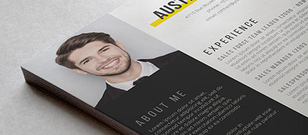 Contrast Word Resume Pack