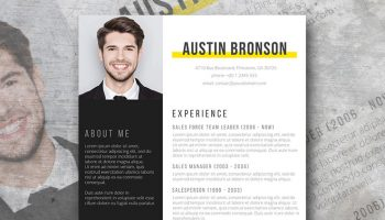 Modern Resume Templates [35+ Free Examples] - Freesumes