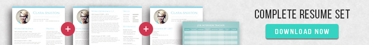buy resume template pack for Word