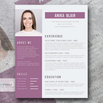 beautiful orchid resume