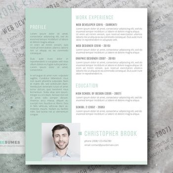 Creative Resume Templates Get The Job You Deserve