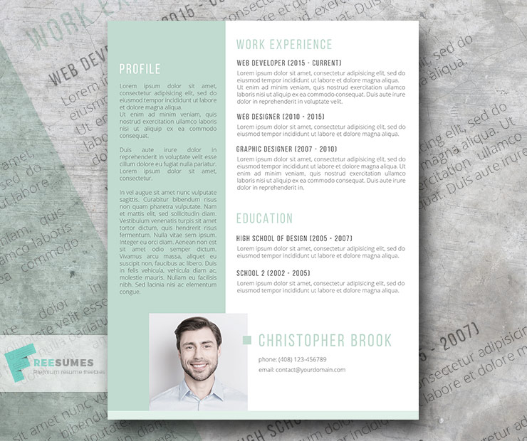 upside down resume