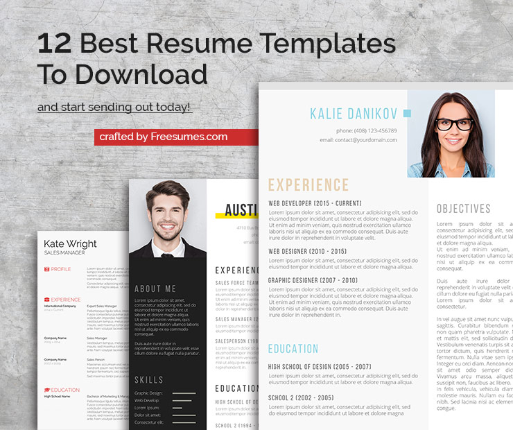 12 Best Resume Templates To Download And Start Sending Out